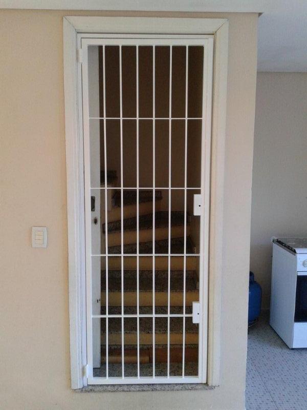 Portas Residenciais - Grade para porta 1